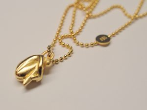 Anhänger Kette Engel Silber vergoldet Modell 2014