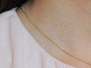 Erbskette 925 Silber vergoldet