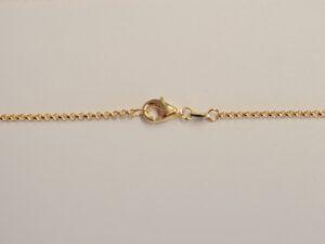 Erbskette-Silber vergoldet