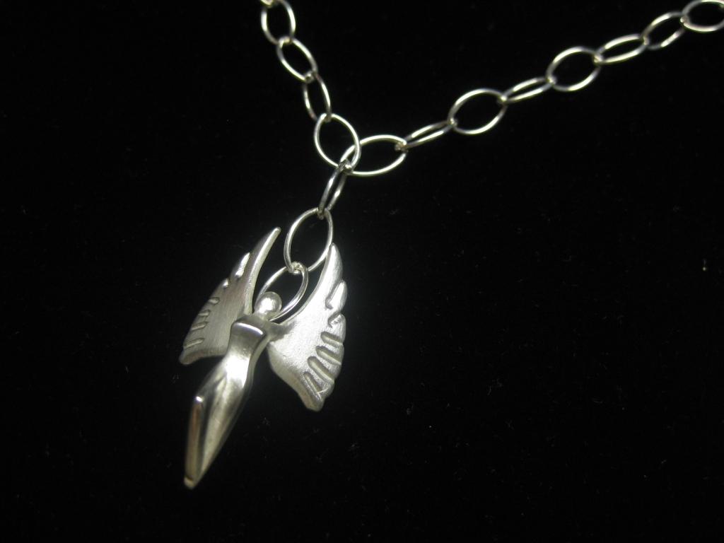 Engel Edition 2010 an Gliederkette aus Silber