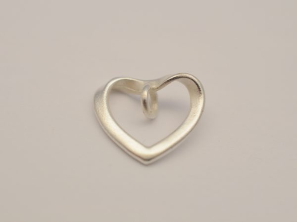 Herz Anhänger aus 925 Silber