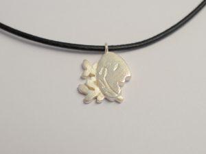 Sternzeichen-A hänger Jungfrau aus 925 Silber