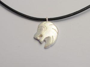 Sternzeichen Anhänger Löwe aus 925 Silber
