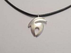 Sternzeichen Anhänger Steinbock aus 925 Silber