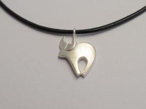 Sternzeichen Anhänger Stier aus 925 Silber