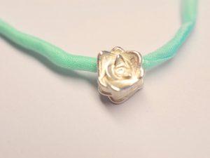 Rose Anhänger Silber
