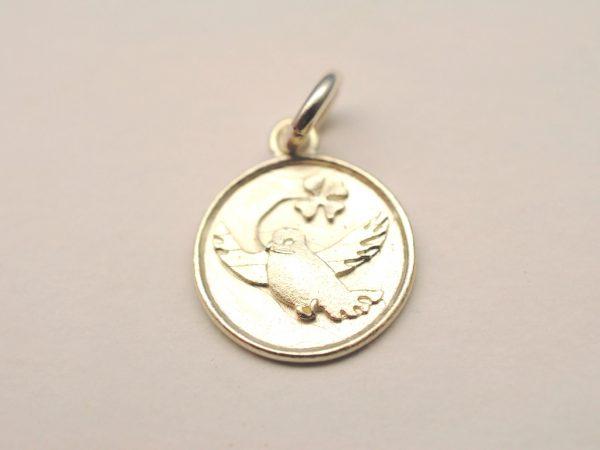 Taufschmuck Taube aus 925 Silber