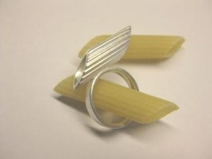 """Ring """"Penne"""" aus 925 Silber"""