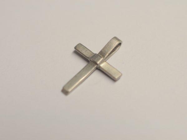 Kreuz aus Platin 950