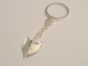 Schlüsselanhänger mit Schutzengel aus Silber - Edition 2013