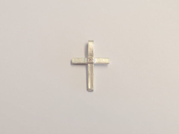 Kreuz Silber Diamant 2020 1