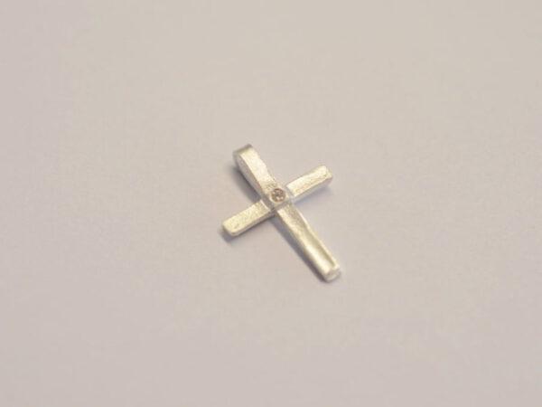 Kreuz Silber Diamant 2020 2