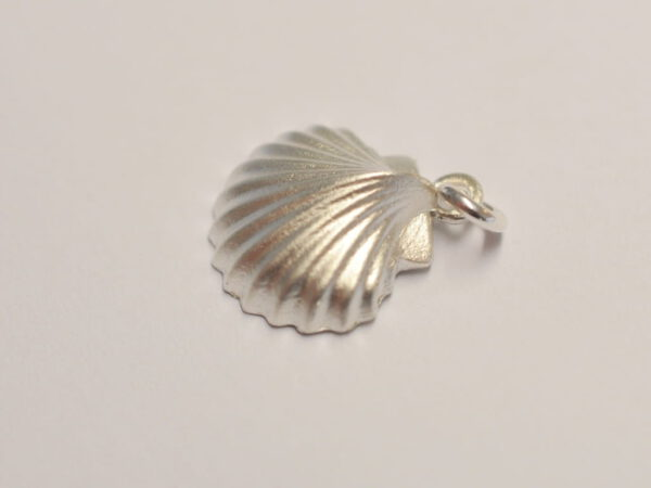 Muschel Anhänger aus Silber