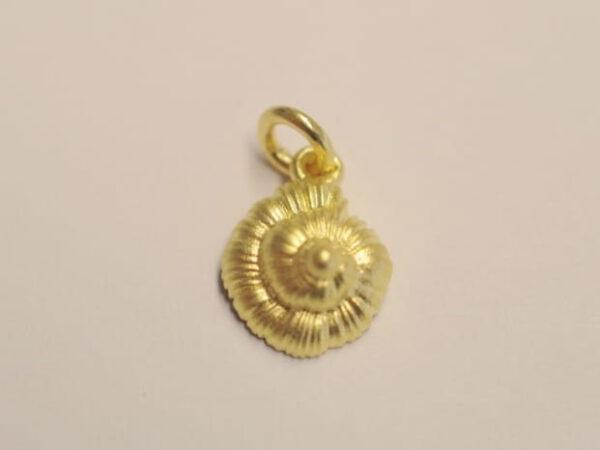 Schnecke Meeresschnecke Anhaenger 750 Gold 1