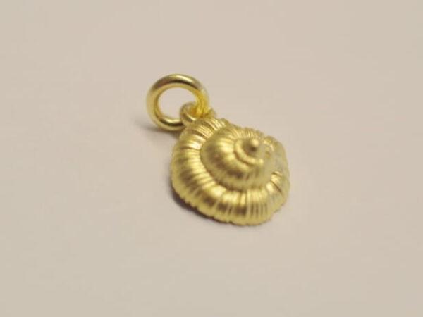 Schnecke Meeresschnecke Anhaenger 750 Gold 2