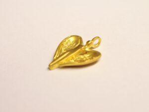 Schutzengel Anhänger aus Gelbgold 750 - Edition 2012