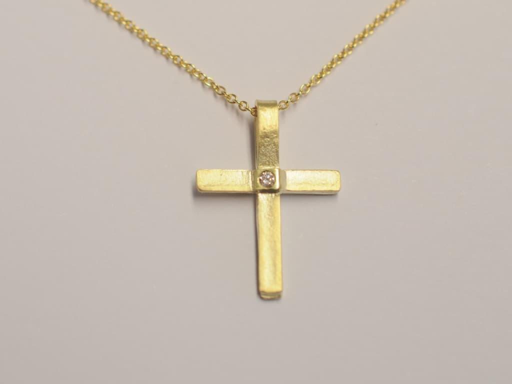 hoellwerk kreuze anhaenger gold und silber