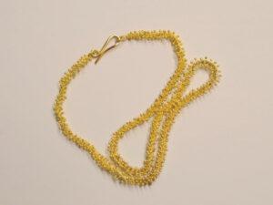 Handgefertigte Goldkette