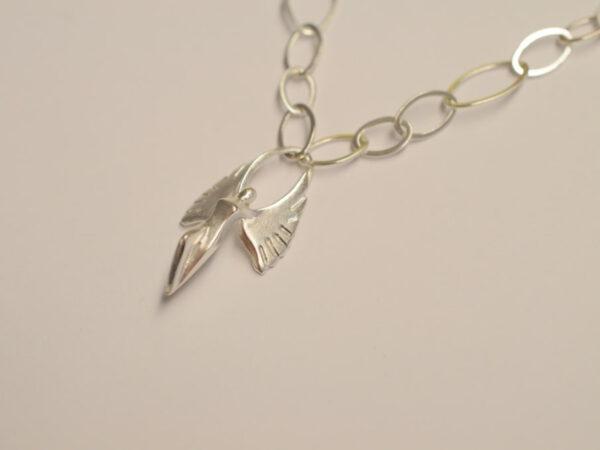 Schutzengel Silber Gliederkette - Edition 2010