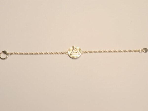 Triathlon Schmuck Armband aus Silber