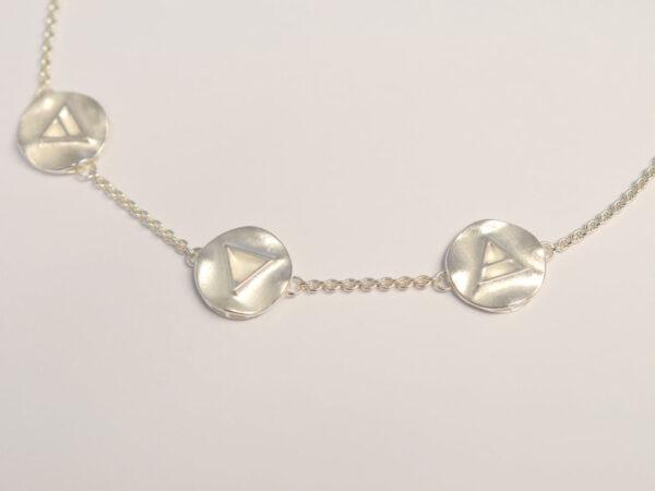 Halskette Silber Triathlon Kollektion