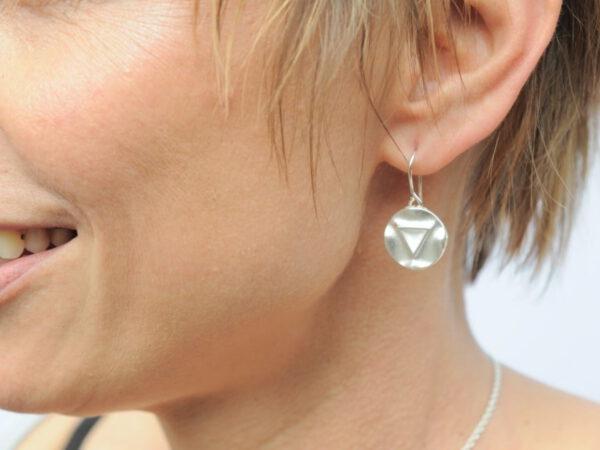 Ohrhänger Triathlon aus Silber