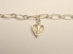 Kinder-Armband aus Silber mit Schutzengel