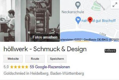 höllwerk - Bewertungen bei Google